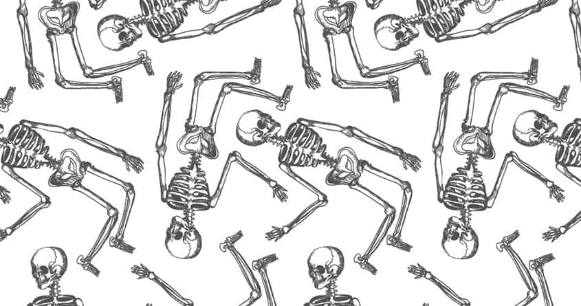 Bones by sockpockets on Threadless