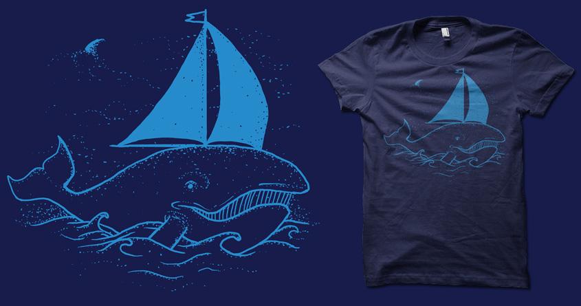 WhaleBoat by biotwist on Threadless