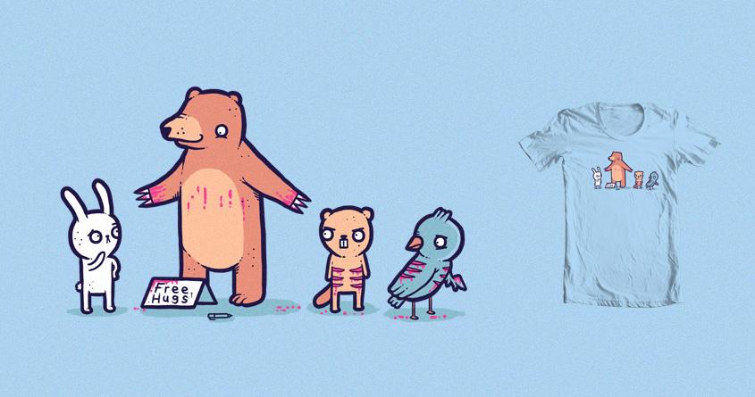 Bear hugs by randyotter3000 on Threadless