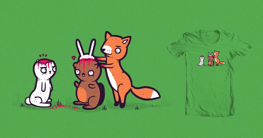 Bunny ears by randyotter3000 on Threadless