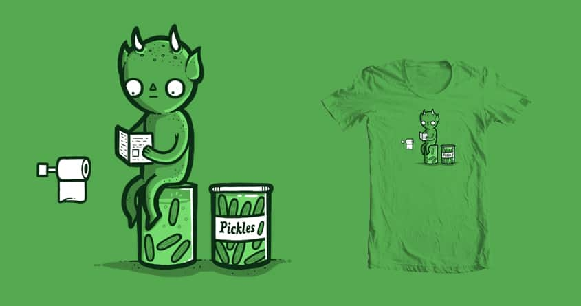 How pickles are made by randyotter3000 on Threadless