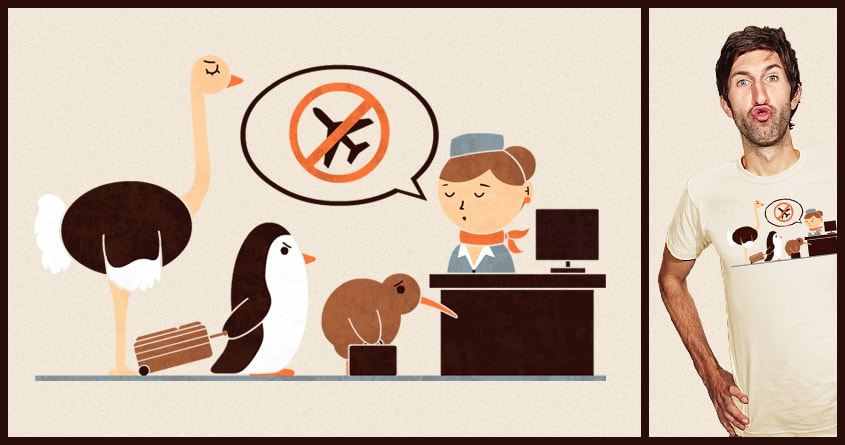 The No-Fly List by TeoZ on Threadless