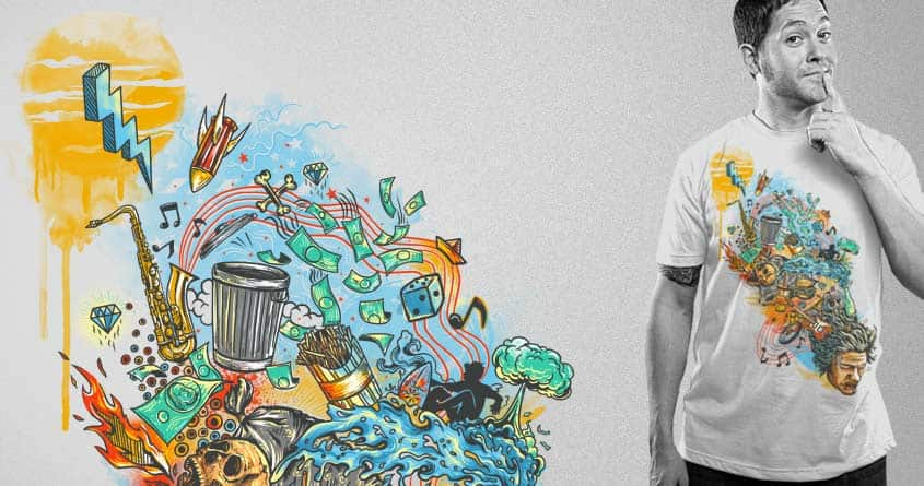 Junk Head by eQuivalent and tangguh karya on Threadless