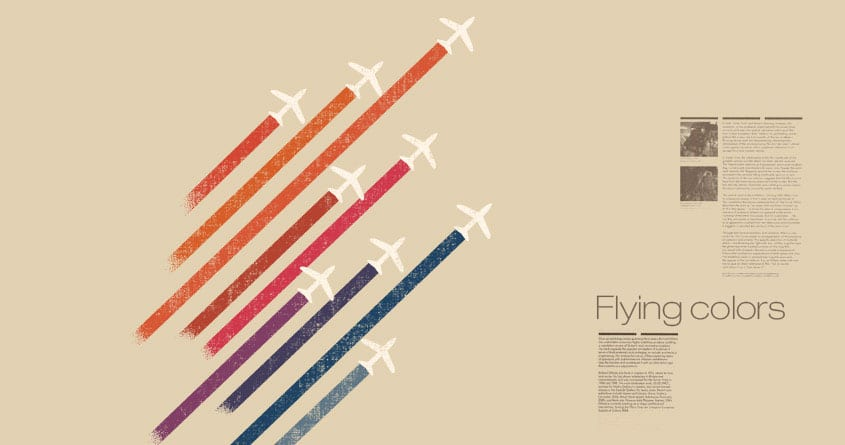 Flying colors by radiomode on Threadless