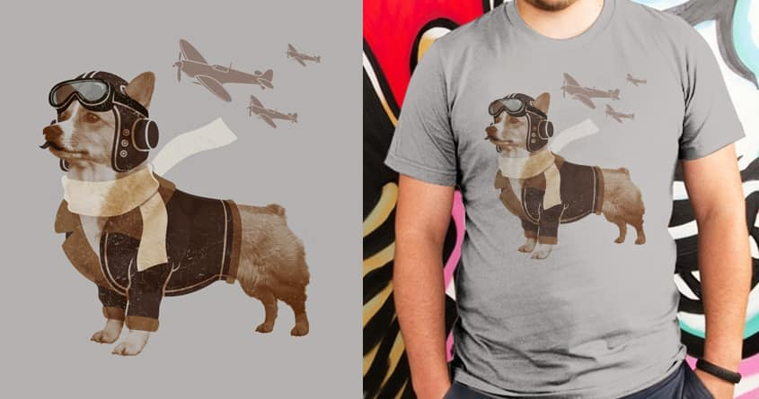 Defenders of the sky by speedyjvw and pilihp on Threadless
