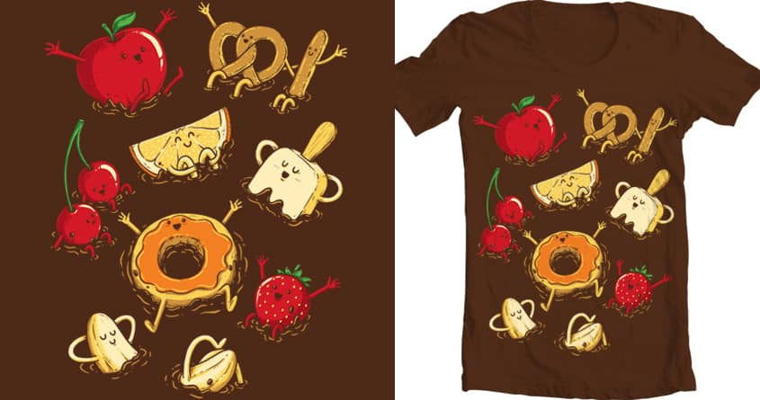 Chocolate Dip Party by temyongsky on Threadless