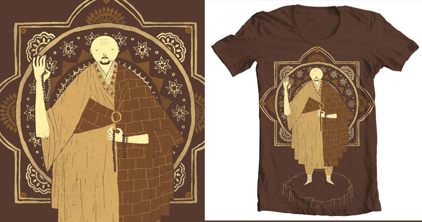 shaolin monk by louisroskosch on Threadless