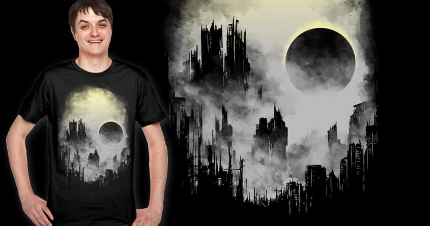 a abandoned city by bokien on Threadless