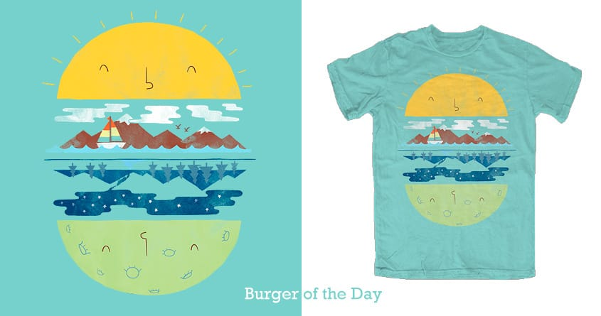 Burger of the day by ilovedoodle on Threadless