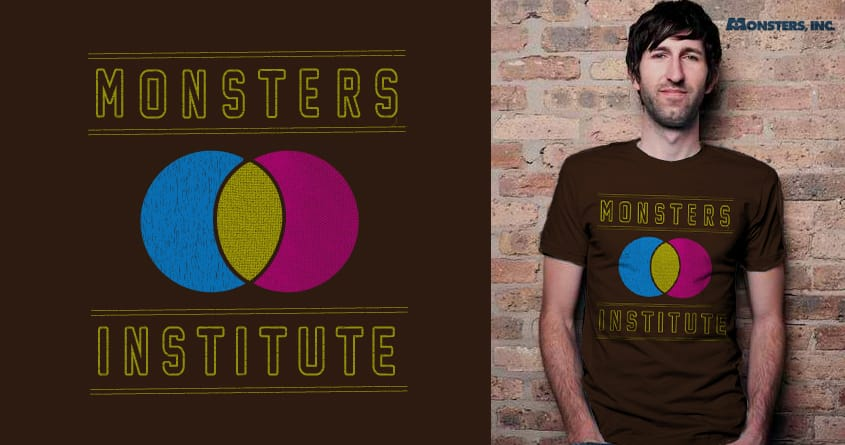 Monster Institute by halfgotten on Threadless
