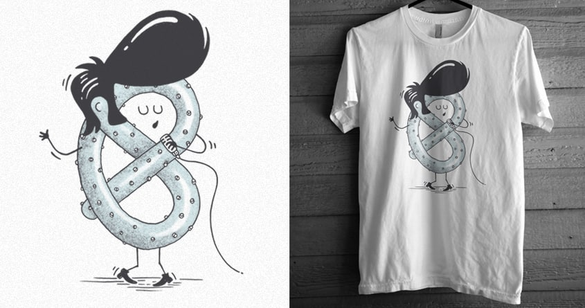 Elvis Pretzel by emi99 and expo on Threadless