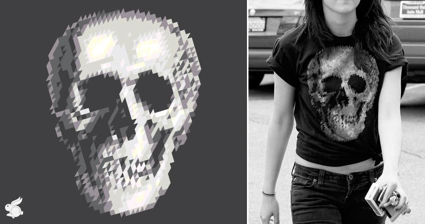 Tri Skull by arzie13 on Threadless