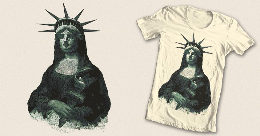 Mona Liberty by kreadid on Threadless