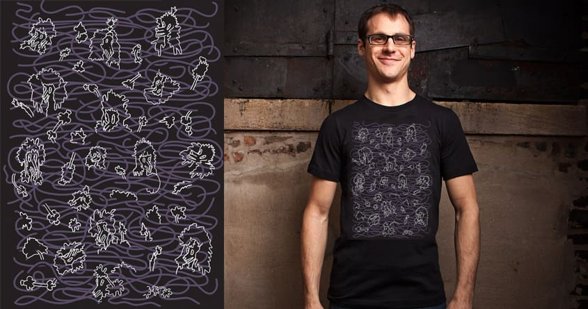 oodles of poodles in noodles by campkatie on Threadless
