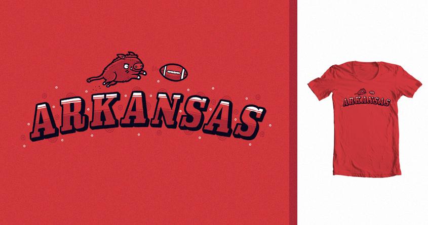 Arkansas by randyotter3000 on Threadless