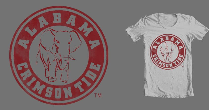 ele of bama by ORNUMMARK on Threadless