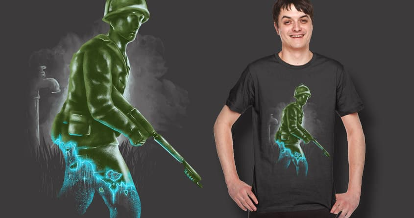 future army men by bokien on Threadless