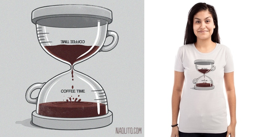 Coffee Time by Naolito on Threadless