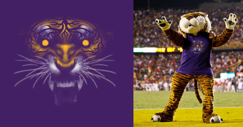 Geaux Tigers! by Mr Rocks on Threadless