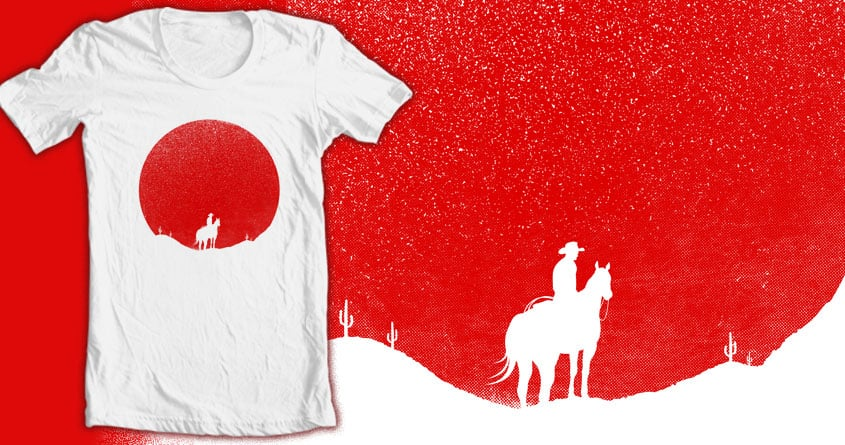 The Rising Sunset by tomburns on Threadless