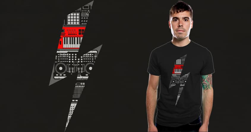 Electro Music by messing on Threadless