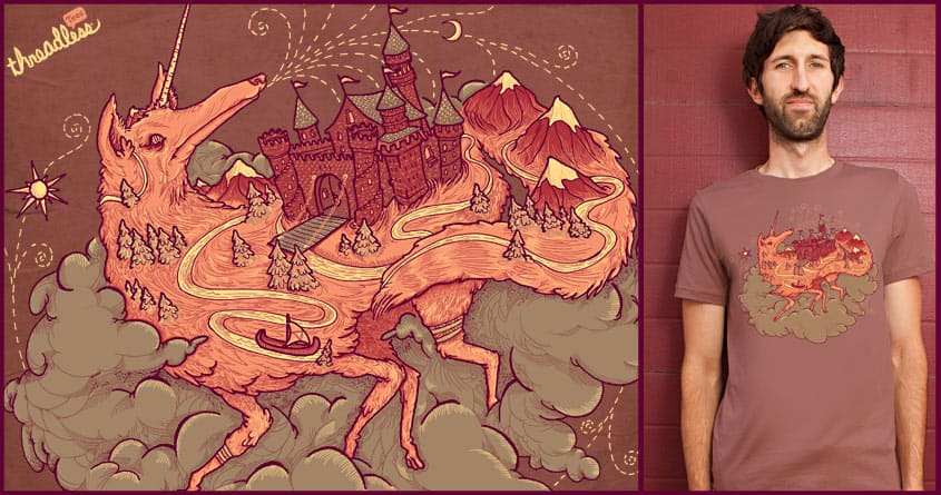 Sky Castle by L-M-N-O-P on Threadless