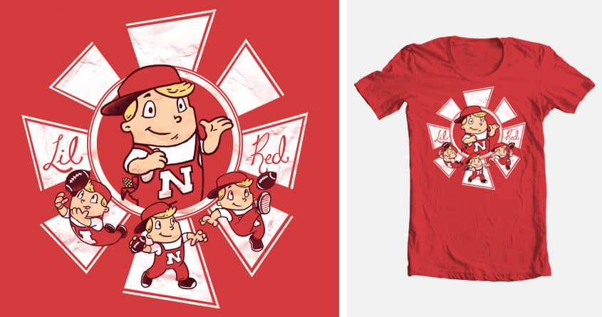 Lil Red by drake.sauer on Threadless