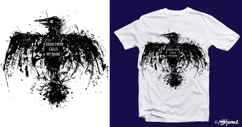 Dead Crows  by Migel Grase on Threadless