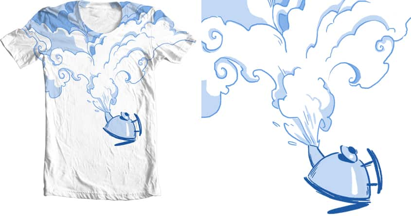 All steamed up by Goat_Hoofie on Threadless