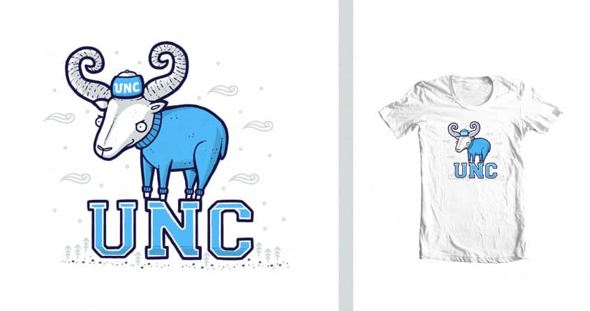 UNC by randyotter3000 on Threadless