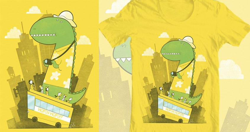 Hop-on-hop-off by queenmob on Threadless