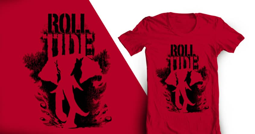 Rock & Roll Tide by zulfinaAM on Threadless
