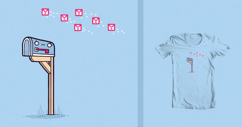 Snail mail by randyotter3000 on Threadless