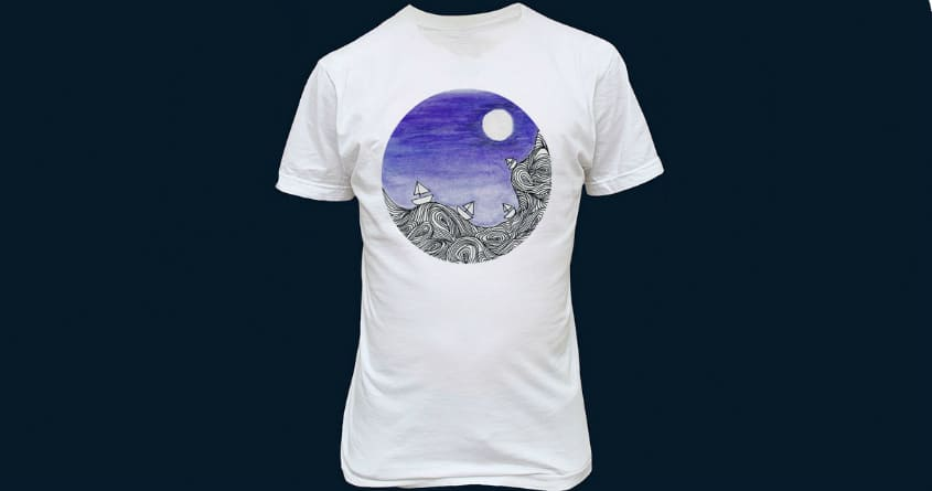 Sail Me to the Moon  by maiaks on Threadless