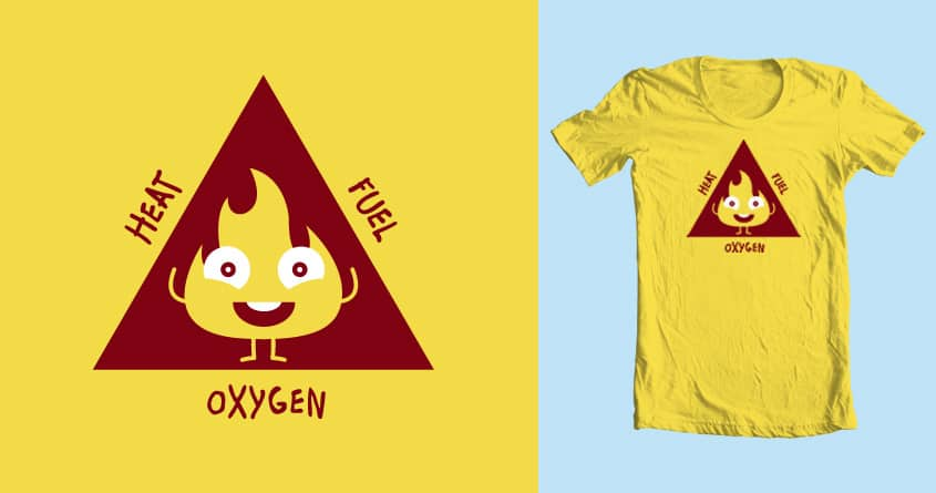 How Mr Flame Stays Healthy & Happy by heelloohan on Threadless