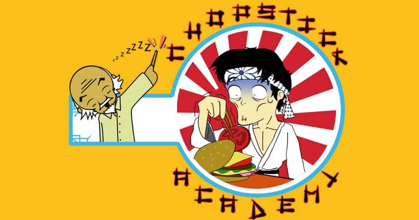 CHOPSTICK ACADEMY by rodrigo.s.culkin on Threadless