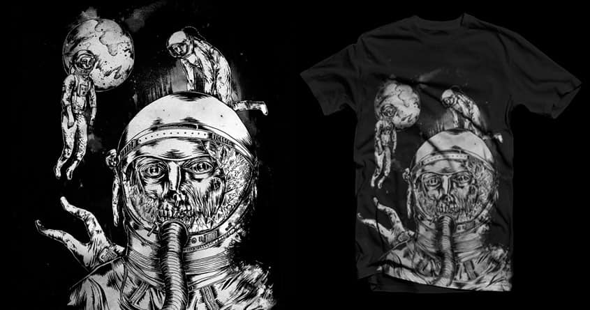 Death in Space by Raulio on Threadless
