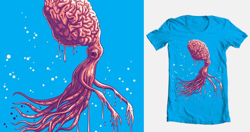 octopus zombie by zakiihamdanii on Threadless
