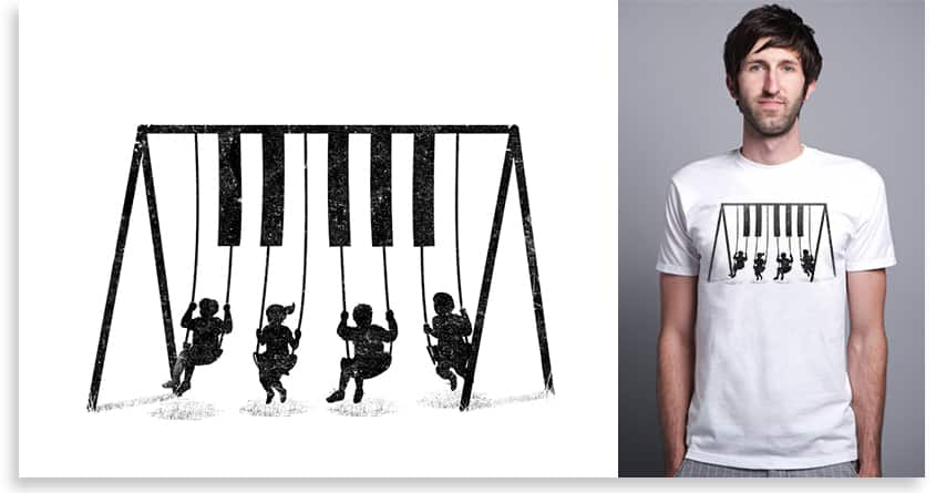 Swing With The Music by TangYauHoong on Threadless