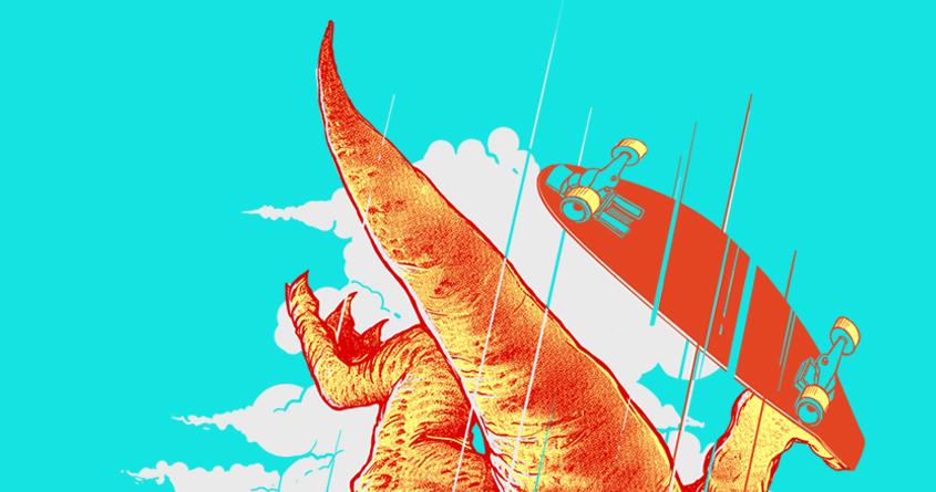 I Was a Teenage T. Rex by iamrobman on Threadless