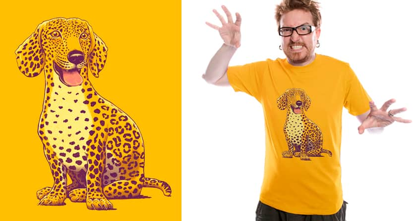 Take a woof on the wild side… by v_calahan on Threadless