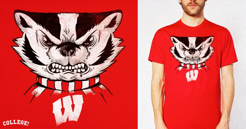 Bucky by alexmdc on Threadless