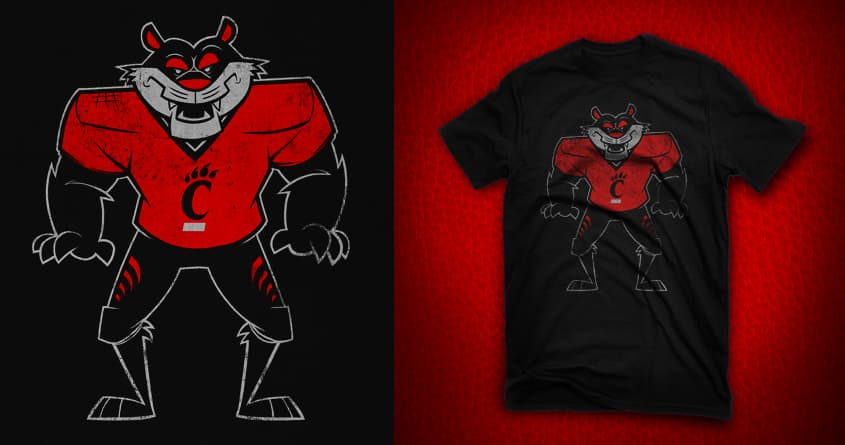 Bearcats by jublin on Threadless