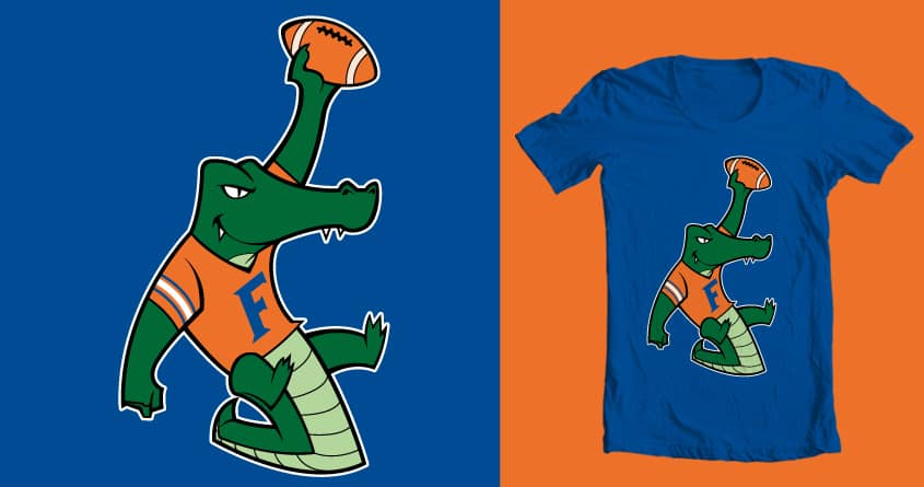 the alligator by spike00 on Threadless