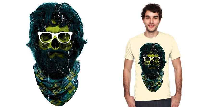 Dead Mountain Man Hipster by Joe Conde on Threadless