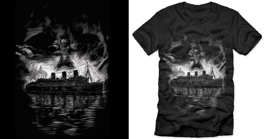 Ghost Ship by polynothing on Threadless