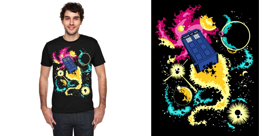 The Dr. is Who? by Justin Lee on Threadless