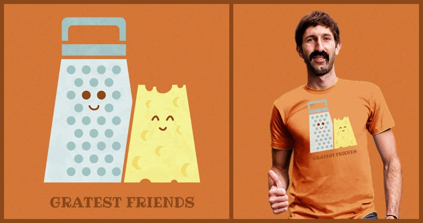 Cheesy Friendship by TeoZ on Threadless