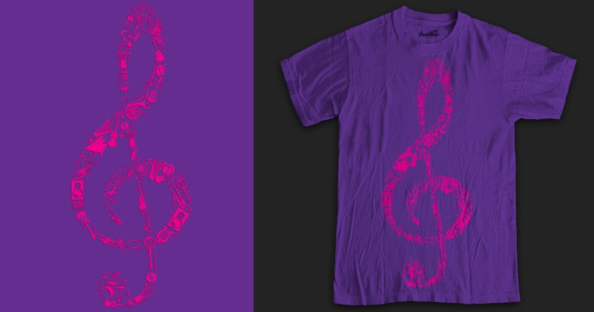 If music be the food of the soul, play on by TenTimesKarma on Threadless