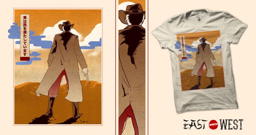 Western Moku Hanga by StevenRice on Threadless